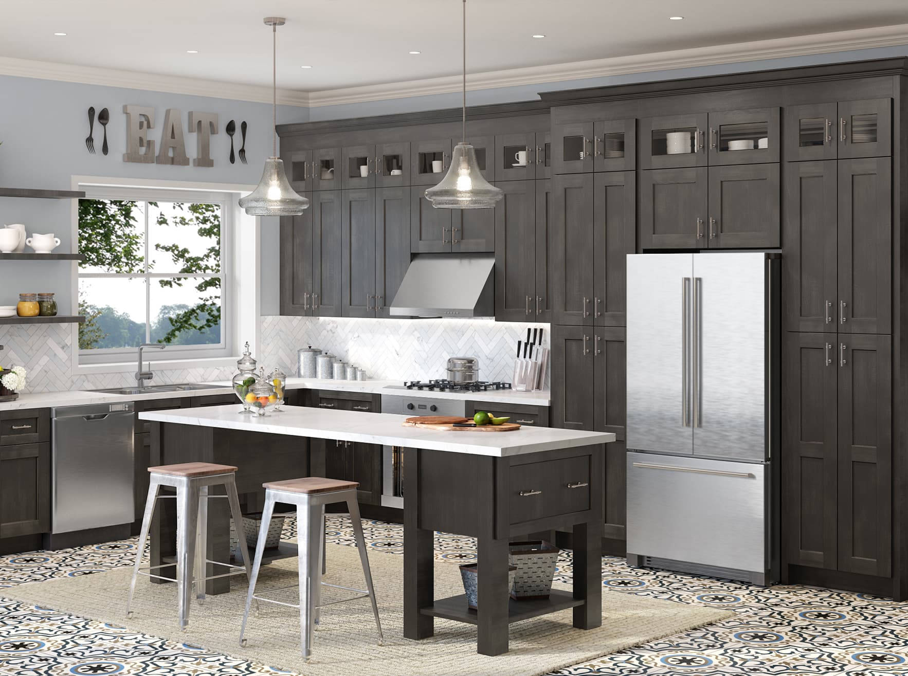 Highland: Classic Cabinets | Kitchen Envy Cabinets